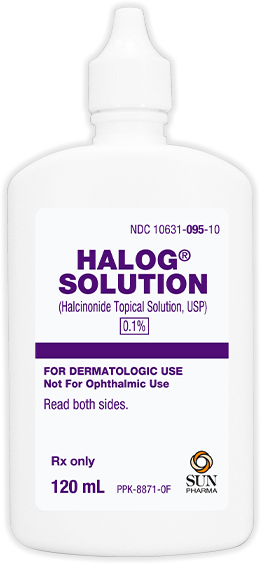 Halog Solution inner packaging